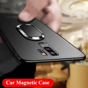 Beira Phone Case For Samsung Galaxy S9 360 Protection Soft Silicone Car Holder Magnetic Fundas For Samsung S9 Plus Cases