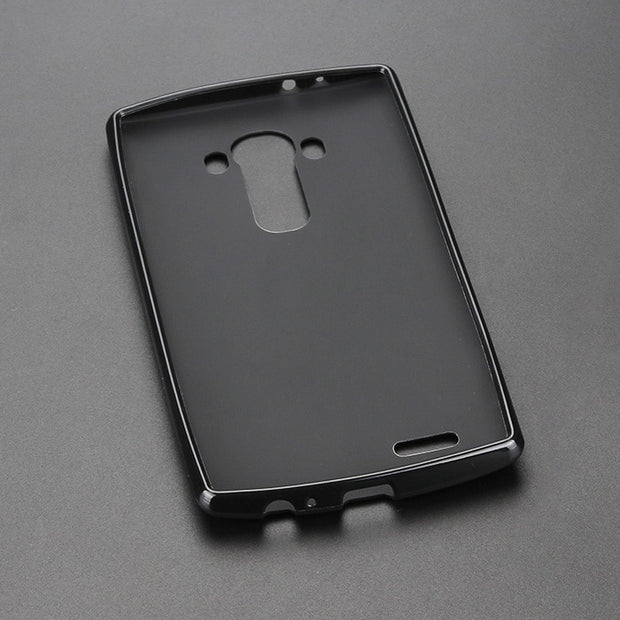 Black Gel TPU Slim Soft Anti Skiding Case Back Cover For LG G4 H815 G2 G3 G5 Mobile Phone Rubber Silicone Bag