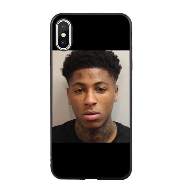 Broke Again Nba Youngboy 38 Baby Rap Hip Hop Music Fan Silicone Phone Case Cover For IPhone XS MAX XR 7 8 Plus 6 6sPlus 5 5S SE