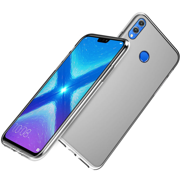 CASEWIN For Huawei Honor 8X 8C 8X Max Note 10 Honor Play Case Silicone Transparent Clear Soft TPU Cover For Huawei Y9 2019 Y6 II