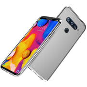 CASEWIN For LG V40 ThinQ Case Transparent Soft TPU Thin Shockproof Phone Case For LG V40 Case Silicone Protection Cover Clear