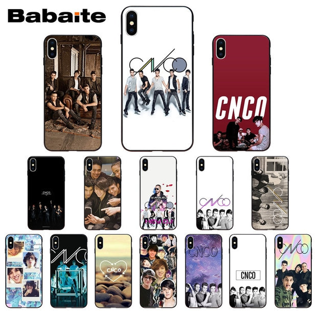 CNCO Colorful Cute Phone Accessories Case For IPhone X XS MAX 6 6S 7 7plus  8 8Plus 5 5S XR Babaite