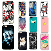 Cartoon Animals Case For Iphone 7 7plus Cases Soft Silicon Back Cover Couple Phone Cases For Iphone 6 6S 8 8 Plus 5 5s Se Case