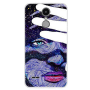 "Case For LG K4 2017 Case 5.0"" Soft Silicone Coque For LG K4 M160 TPU Cover For LG Phoenix 3 Phone Case Funda Capa Fashion Paint"
