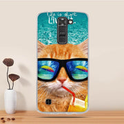 Case For LG K7 X210 X210DS Tribute 5 LS675 Case Cover 3D Patterned Case For LG K7 Cover Soft Silicone Coque For LG K7 K 7 Case