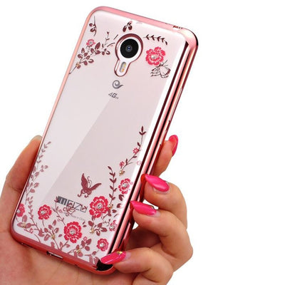 Case For Meizu M3s M5s M 3s Mini 5s / M3 Note/ M5 Note/ M6 Note / U10 U20 Meilan Mobile Phone Cover Glitter Silicon Casing