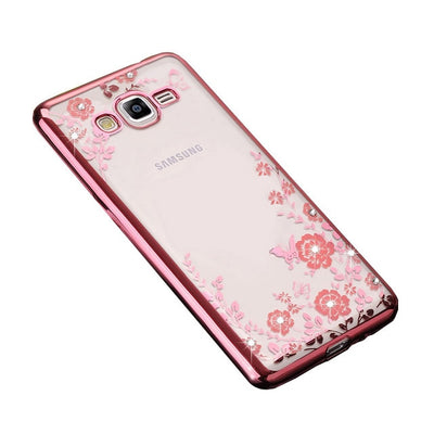 Case For Samsung Galaxy J2 Prime SM-G532F SM-G532M Cell Phone Cover TPU Silicon Cute Housing Ultra Thin Glitter Casing