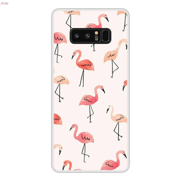 Case For Samsung Galaxy Note 8 Soft Silicone TPU Cool Design Patterned Painting Phone Cover For Samsung Note8 Case Cover
