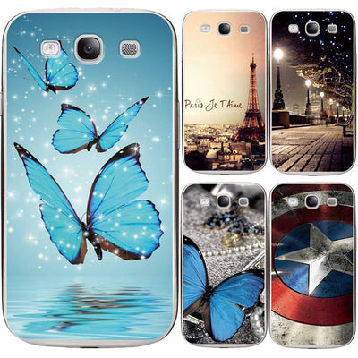 Case For Samsung Galaxy S3 Cute Animal Printing Drawing Patterned Silicone TPU Soft Shell For Samsung S3 Case Phone Back Cover