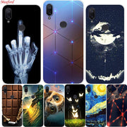 "Case For Xiaomi Mi Play Case 5.84"" Soft TPU Back Cover For Xiaomi Mi Play Phone Case Silicone Coque Funda Fashion Painted Capas"