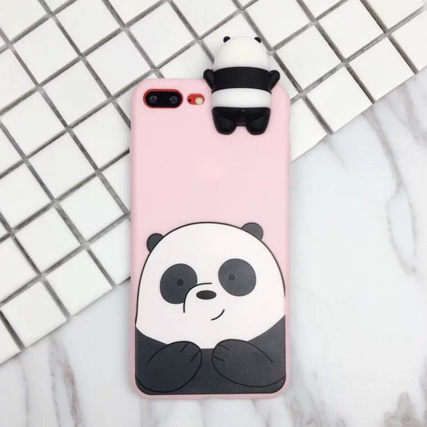 Case For Xiaomi Redmi 5a Case Cute Cartoon We Bare Bears Brothers Toys Copper Cases