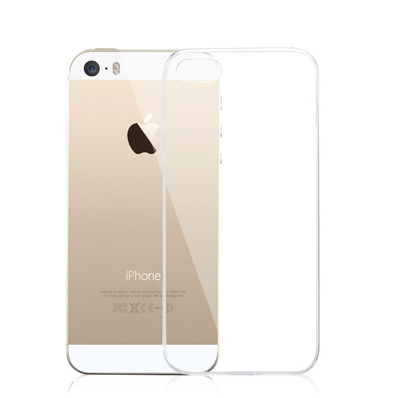Iphone 6 6S 5S 7 Silicone Clear Soft
