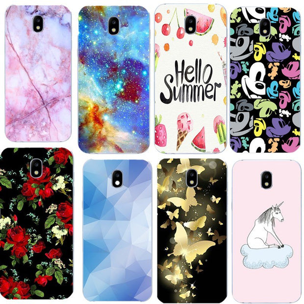 cover samsung galaxy j5 2017 flowers