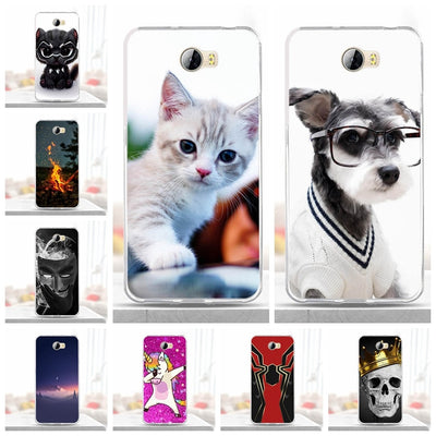 Case For Huawei Honor 5A LYO-L21 CUN-U29 Cover Silicone Soft TPU Funda For Huawei Y5 II Y5 2 Case Capa For Huawei Honor 5A Coque