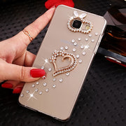 Case For Huawei Honor 5A LYO-L21 (Only Russia Version) Bling Bling Rhinestone Case For Huawei Y5 Ii Y52 / (Huawei Y6 Ii Compact)
