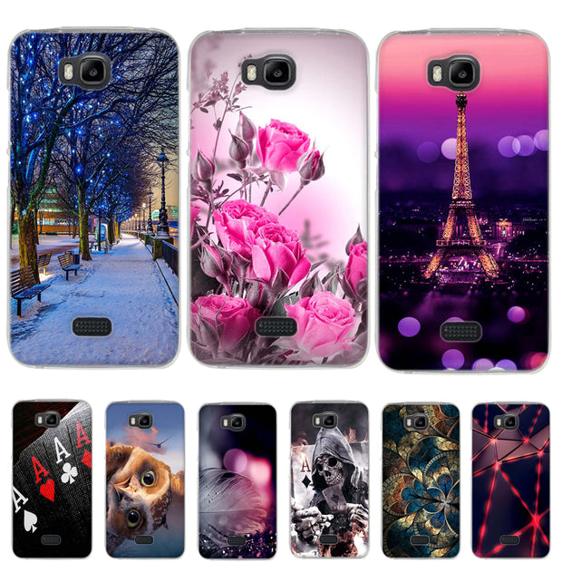 new arrivals e8ad6 fa36f Case For Huawei Y541-u02 Case Silicone Soft TPU Cover For Huawei Y5C Case  Cover Capa Fundas For Huawei Honor Bee Y560 Phone Case