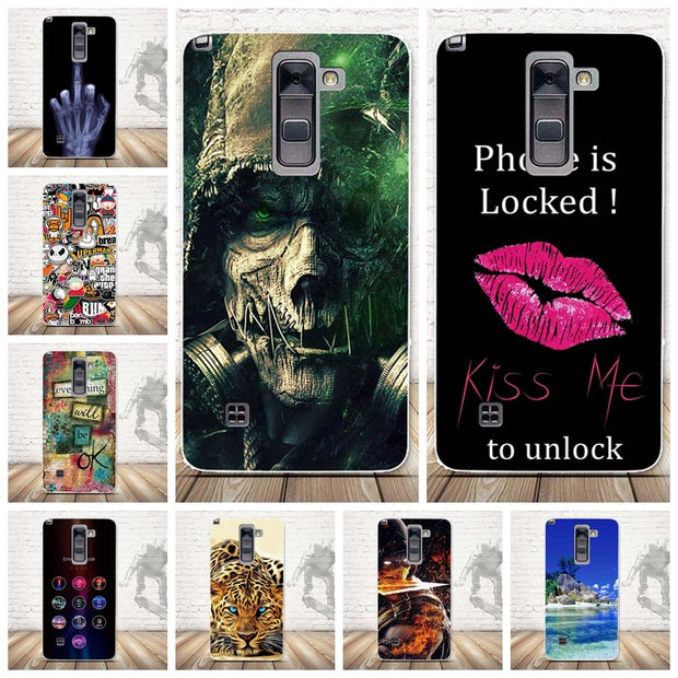 best website acb00 87c48 Cases For LG G Stylo 2 Plus/Stylus 2 Plus/K550/K530F/K535D Case 3D TPU Soft  Phone Back Cover Silicone Mobile Phone Fundas