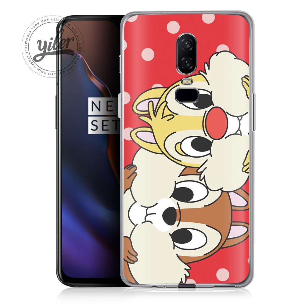 Coque Stitch For Oneplus 6 Case Cover Bear Fashion Phone Case For Oneplus 6  5 5T Funda For One Plus 6 5 5T 6T 1+6 Phone Capa