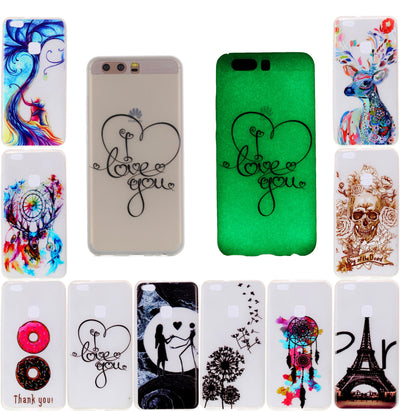 Cover Huawei P10 Cases For Coque Huawei P10 Case Cover VTR-L09 VTR-L29 Fluorescent Phone Case For Huawei P10 VTR-AL00 5.1""