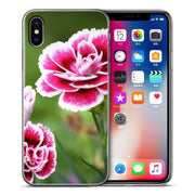 Cute Beautiful Flowers Case Cover For IPhone XS Max XR X 7 6 6s 8 Plus Xs 5 5S SE Soft Silicone Phone Cases Cover Etui Capa