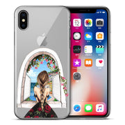 Cute Lovely Fashion Girls Case Cover For IPhone XS Max XR X 7 6 6s 8 Plus Xs 5 5S SE Silicone Phone Cases Covers Etui Coque