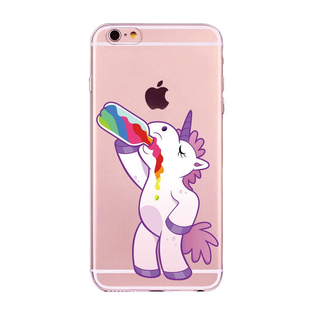 cover unicorno iphone 7 plus