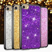 DAGUDON Glitter Soft Case For Iphone XR XS X 8G 7G 6G 5G Phone Case For Samsung Galaxy S9 S8 S5 S3 J7 J5 J3 2017 2016 TPU Cover