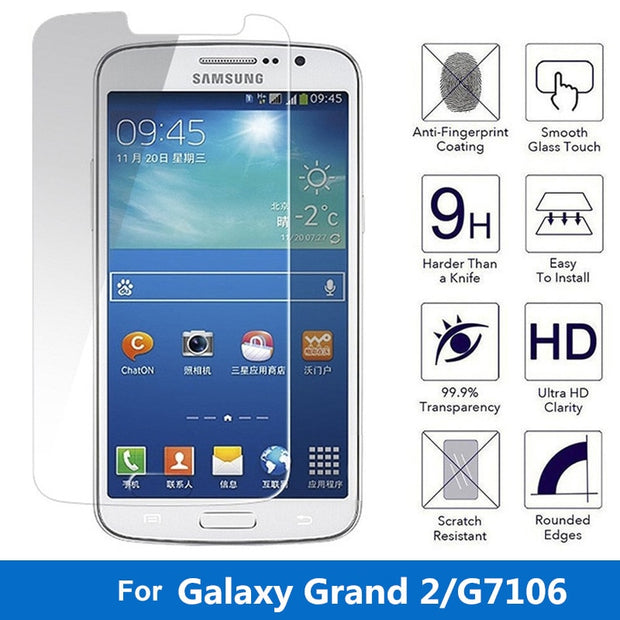 Explosion-Proof Premium Tempered Glass For Samsung Galaxy