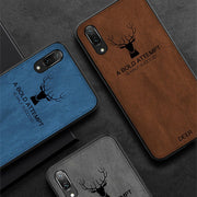 FQYANG 3D Deer Patterned Cloth Silicone Case For HUAWEI P20 PRO Mate20 Cloth Texture Deer Soft TPU Case For HUAWEI Honor 8X Max