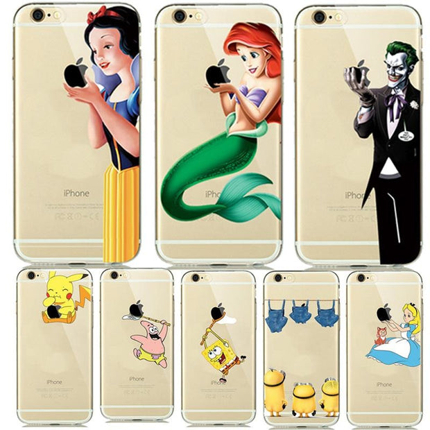 iphone 6 clear cover cinderella brands