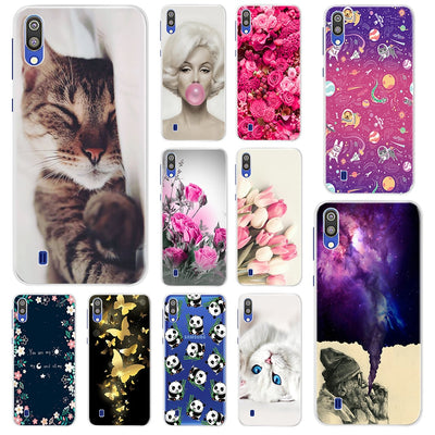 Fashion Soft TPU Case For Samsung Galaxy M10 M20 M105F M205F Transparent Soft Silicone Coque Phone Case For Samsung M10 Cover