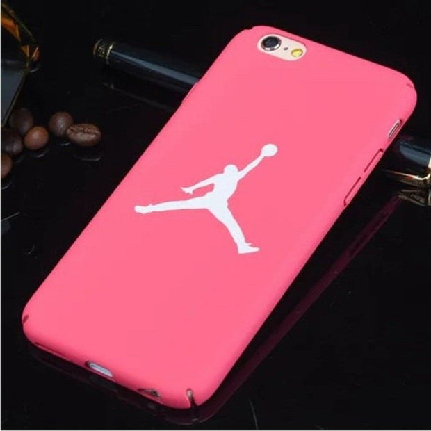 Fashion Ultra Thin For Phone Case Iphone 7 8 6 6S Jordan TPU Hard Case For Iphone 7 8plus 6 6s Plus 5 5s Se Funda Capa
