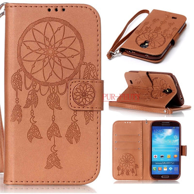 Flip Case For Samsung Galaxy S4 Mini S4mini Duos I9197 I9198 GT-9190 Silicone Phone Case S 4mini GT-i9190 GT-i9192 GT-i9195 Bags