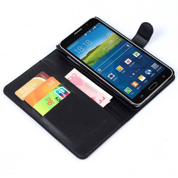 "Flip Leather Case Cover For Samsung Galaxy Mega 2 LTE G750F G750H G7508Q 6"" Back Cover Housing Wallet Case Shell+Card+Stand"
