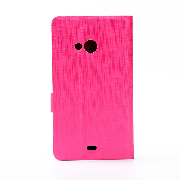 Flip PU Leather Case For Nokia Lumia N630 630 N532 532 N950 950 N730 730 N720 720 N850 850 N535 535 Funda Cases Wallet Cover