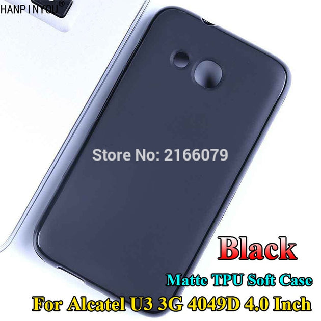 new product 1ab55 52d08 For Alcatel U3 3G 4049D 4.0