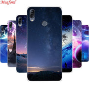 For Asus Zenfone Max M2 ZB633KL Case Silicone Star Planet Sky Art Print Soft TPU Case For Asus Zenfone Max M2 ZB633KL Cover Case