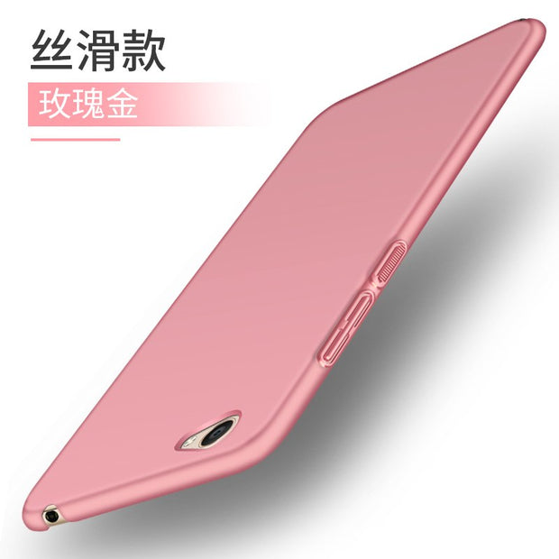 For BBK Vivo Y55 Case Vivo Y55s Ultra-thin Smooth Cover Hard PC