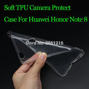For Honor Note 8 Ultra Thin Soft TPU Silicon Gel Transparent Camera Protect Case Back Housing Cover For Huawei Honor Note 8 6.6""