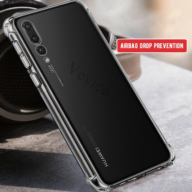 For Huawei Mate 20 X 10 P20 Lite Pro Airbag Phone Cases For Honor 8X Max 8C 10 9 Lite Note10 6C Pro V9 Play Y9 2019 Nova 3i Capa