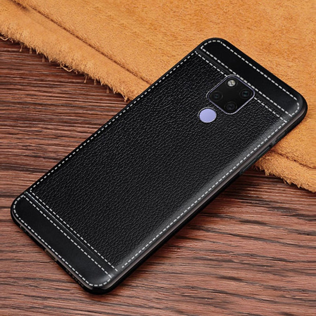 "For Huawei Mate 20 X Case Cover For Huawei Mate 20X Case 7.2"" TPU Silicone Painted Back Cover Mate 20X Mobile Phone Case"
