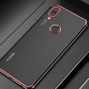 For Huawei P Smart Plus/Nova 3i 2plus 2i 3 Mate 20 10 Lite Pro P9plus Transparent Plating Cover For Honor Note10 8X 8 Cases