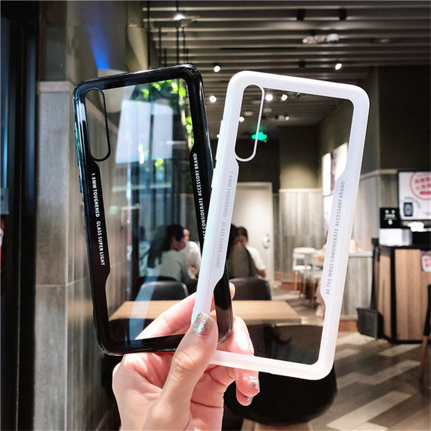 For Huawei P20 Lite /P20/P20 Plus/P10/P10 Lite/P10 Plus Simulated Glass Case For Huawei P8 Lite 2017 P9 Lite P 10 P 20 Coque