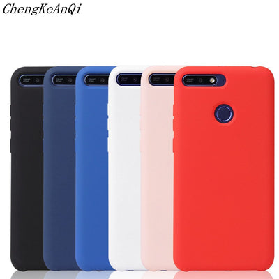 For Huawei Y6 2018 Case Y6 2018 Fashion Soft Silicone Phone Cover For Huawei Y6 Prime 2018 Case Silicone Shockproof Coque Fundas