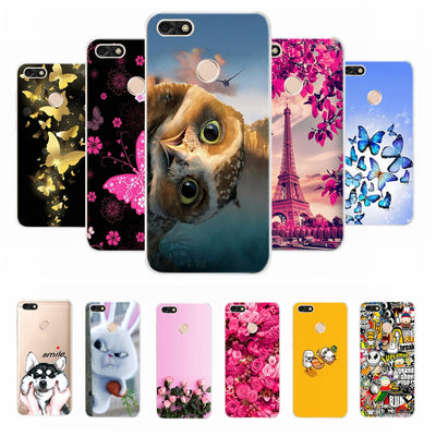 For Huawei Y6 Pro 2017 Case Cover For Huawei Nova Lite 2017 SLA-L22 Case Shell For Huawei P9 Lite Mini Soft Silicone Coque Case