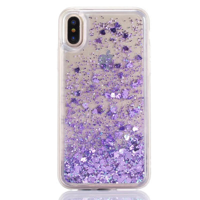 For Huawei Y7 Prime 2018 Bling Liquid Quicksand Back Cover For Honor 7C / Enjoy 8 / Nova2 Lite Shiny Sequin TPU Glitter Case