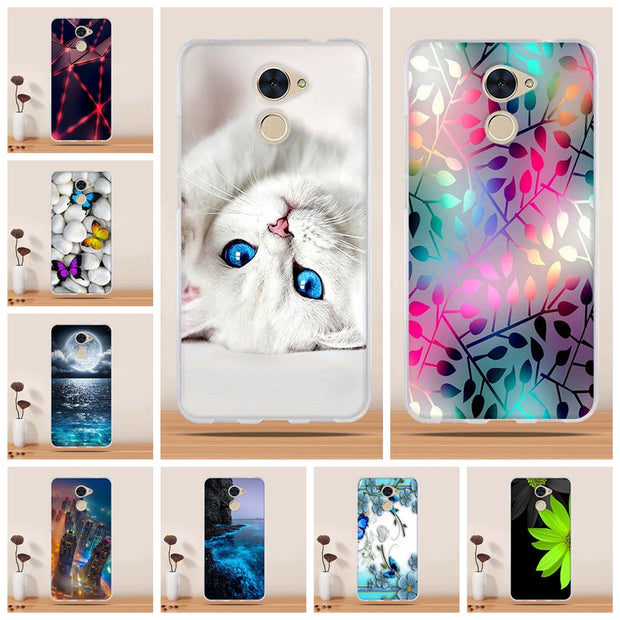 For Huawei Y7 Prime Enjoy 7 Plus Case Cover 5.5 Silicone Soft TPU Cover For Huawei Y7 Prime Cover Coque For Huawei Enjoy 7 Plus