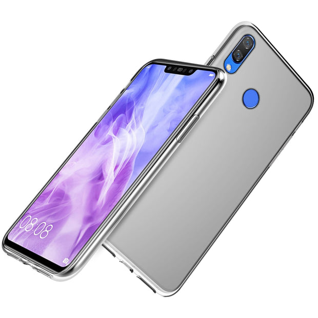 For Huawei Y9 2019 Case Silicone Transparent Dropproof Shockproof Soft TPU Phone Back Case For Huawei Y92019 JKM-LX1 Cover Clear
