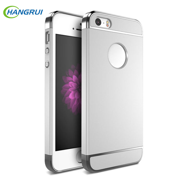 For IPhone 5s SE 5 Case Luxury Shockproof Cases For IPhone 5s Electroplate Hard Cover For IPhone SE Matte Case For IPhone 5 Capa