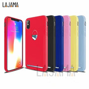 For Iphone 6 7 8Plus X Phone Case Card Slot Ultra-thin Soft Phone Case For Iphone 6 Plus 7 7Plus 8 X Phone Case With Card Pocket